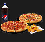 Selection of Pizza Hut products