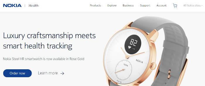 Nokia Health Screenshot