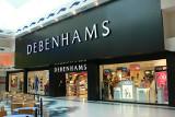 Debenhams store window image
