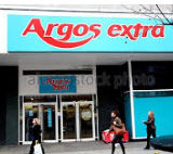Old style Argos Extra store front