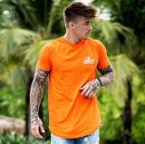 Male model wearing bee inspired tee shirt