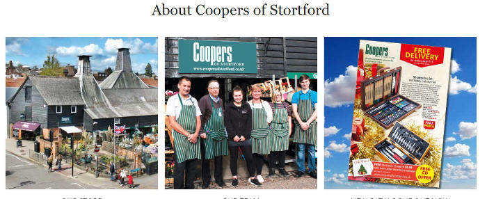 Coopers of Stortford store and staff picture