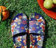 Slydes flower sandals shoppers guide picture